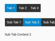 Easy Multi-level Tabs Plugin With jQuery - multiTabs