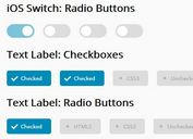 Nice Checkbox And Radio Button Replacement Plugin - nicelabel.js