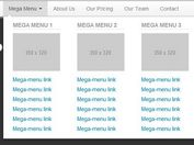 Nice Dropdown Mega Menu with jQuery and Bootstrap
