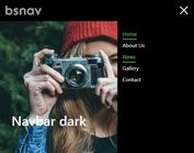 Create Custom Off-canvas Bootstrap 4 Nav - bsnav