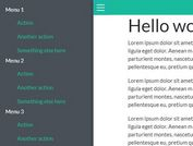 Off-Canvas Menus and Sidebars For Bootstrap 4
