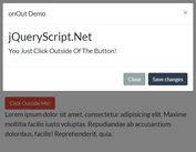 Handling Outside Event With jQuery - onOut