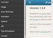 <b>Paneled-Style Navigation Menu Plugin - jPanelMenu</b>