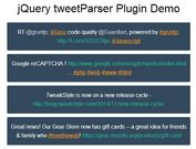 Parse Twitter Usernames, Hashtags and URLs Using jQuery