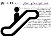 Pixel-Perfect Text Wrapping - jQSlickWrap