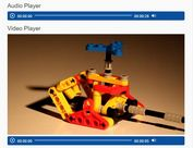 Pretty Simple HTML5 Audio And Video Player - jQuery MKH Player