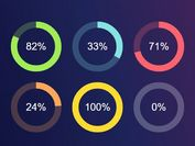 Animated Radial Progress Bars With jQuery, SVG And CSS3