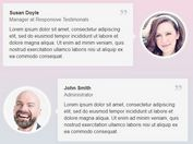 Responsive Customizable Testimonials Plugin With jQuery