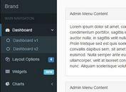 Responsive Admin Sidebar Menu Plugin With jQuery - sidebar-nav