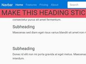 Responsive Any Element Sticky Plugin For jQuery - sticky-items