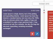 Responsive Dynamic Timeline Plugin For jQuery - Timeliner