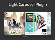 Responsive Full-width jQuery Carousel Plugin - Light Carousel
