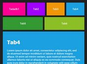 Responsive Metro Style Tabs Plugin For jQuery