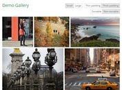 Responsive Photo Grid Plugin with jQuery - Sortable Photos