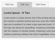 Responsive Sliding Tabs Plugin with jQuery - Tabs.js