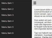 Responsive Sticky Side Menu Plugin For jQuery - Bamboo.js