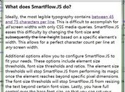 Responsive Text Auto-reszing Plugin with jQuery - smartflow
