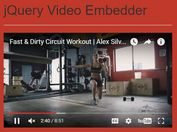 Responsive iFrame Video Embed Plugin With jQuery - Video Embedder