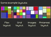 <b>Responsive jQuery Dynamic Grid Layouts Plugin - Freewall</b>