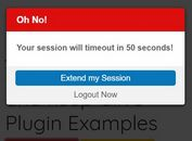 Cross-tab Session Timeout Warning Plugin For - jQuery jTimeout