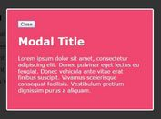 Simple and Accessible Modal Plugin with jQuery and HTML5