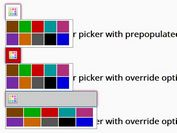 Simple Accessible jQuery Color Picker Plugin - simplecolorpicker.js