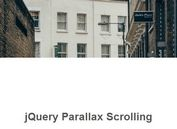 Simple Background Parallax Scrolling Effect With jQuery