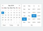 Simple Clean Date & Time Picker Plugin For jQuery