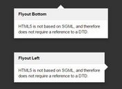 Simple Customizable Tooltip & Popover Plugin - Flyout