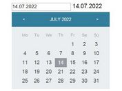 Simple Date Picker For jQuery and AngularJS - Datepicker