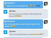 Simple Fast jQuery Emoji Parser / Converter Plugin - jQueryEmoji
