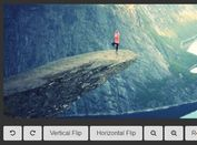 Simple Image Viewer Plugin With jQuery, CSS3 And Canvas - ImageTrans.js