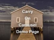 Simple Plain jQuery Image Slider Plugin - Carry On Carousel