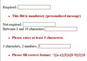 Simple and Practical jQuery Form Validation Plugin - Validarium