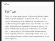 Simple Responsive jQuery Tabbed Interface Plugin - Tabs