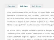 Simple Responsive jQuery Tabs Plugin With Fade Effects