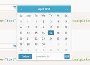 Simple Yet Powerful jQuery Date Picker Plugin - BeatPicker