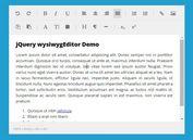 <b>Simple jQuery Based HTML5 WYSIWYG Editor - wysiwygEditor</b>