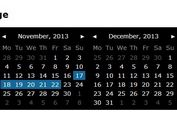 Simple Calendar and Date Picker Plugin - PickMeUp