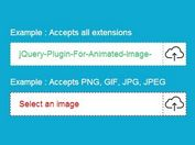 Simple jQuery Plugin For Custom File Upload Input