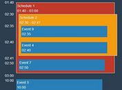 Simple jQuery Schedules & Events Plugin - graspSchedule.js