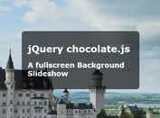 Simplest Fullscreen Background Slideshow With jQuery - Chocolate.js