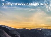 Simplest Youtube Video Background Plugin For jQuery - rsBackVid