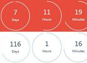 Countdown Circle With jQuery And Canvas - countdowngampang.js