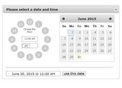Slick Datetime Picker Plugin with jQuery and jQuery UI - slickDTP