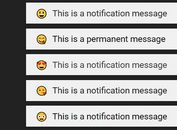 Minimal Sliding Notification Plugin - jQuery miniNotif