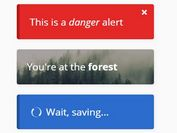 Elegant Sliding Notification Plugin - jQuery myAlert.js
