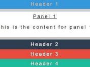 Smooth Accordion Slider with jQuery and CSS/CSS3