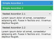 Smooth Nested Accordion Plugin with jQuery & jQuery UI - multiAccordion