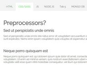 Smooth Responsive Tabs Plugin with jQuery and CSS3 - openTabby.js